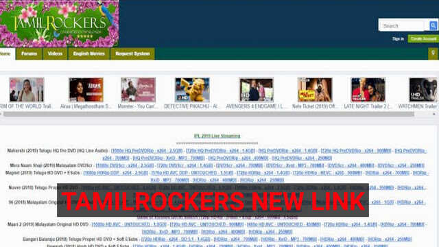 TamilRockers New Link 2020 – Latest Tamilrockers Website To Download Movies