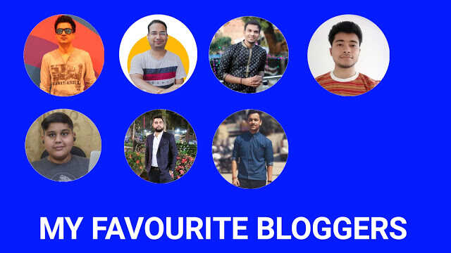 My Favourite Bloggers